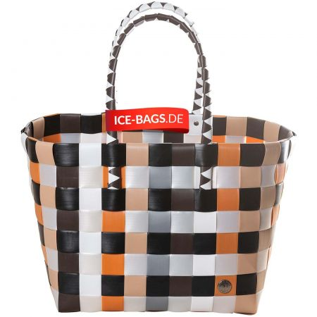 Witzgall Shopper Tasche Klassiker ICE-BAG 5010-33 Einkaufstasche Einkaufskorb Kunststoff bunt farbenfroh geflochten