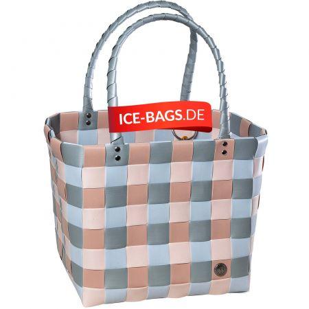 Witzgall Tasche Shopper Original ICE-BAG 5009-06 gruen-braun geflochten Kunststoff Einkaufstasche Einkaufskorb Onlineshop WorldofBaskets.de