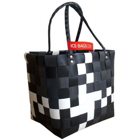 5009-04 Ice-bag - Original Witzgall Taschen - schwarz/weiß