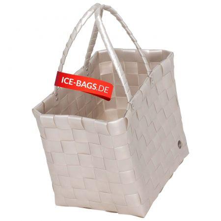 Witzgall Shopper Tasche Klassiker ICE-BAG 5010-23s Einkaufstasche Einkaufskorb Kunststoff bunt farbenfroh geflochten